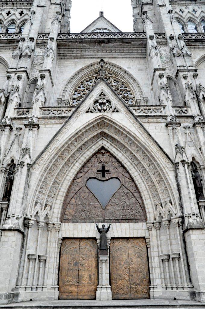 Ekwador Quito Katedra