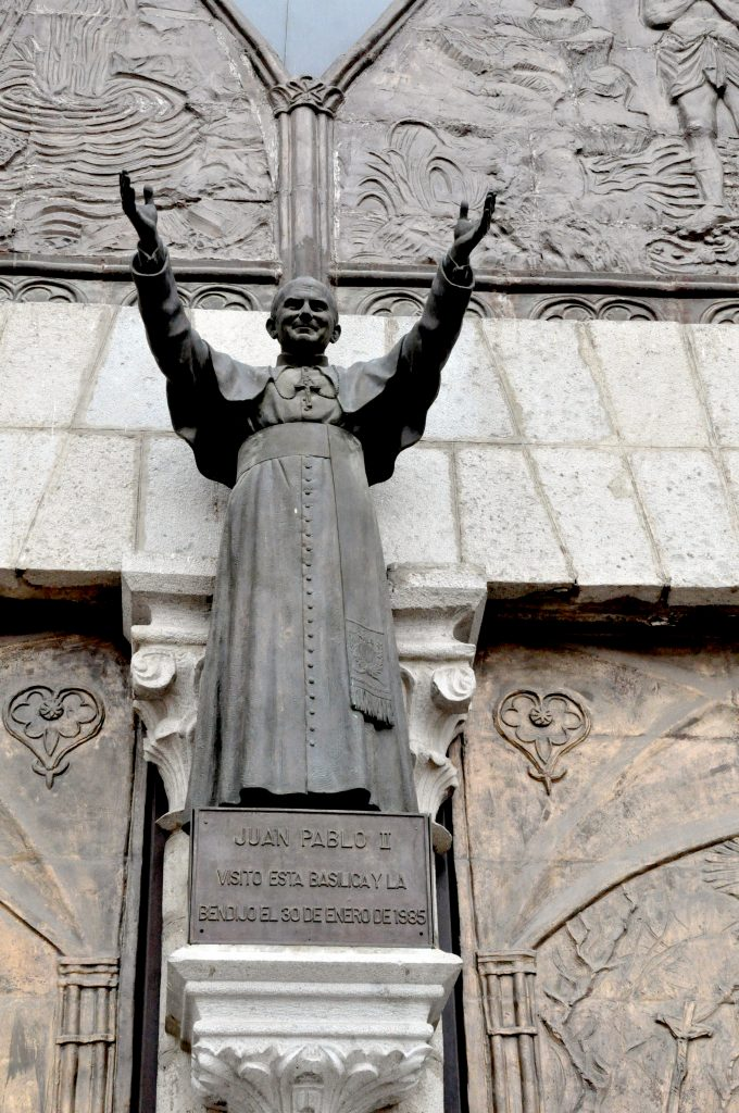 Ekwador Quito Katedra Jan pawel II