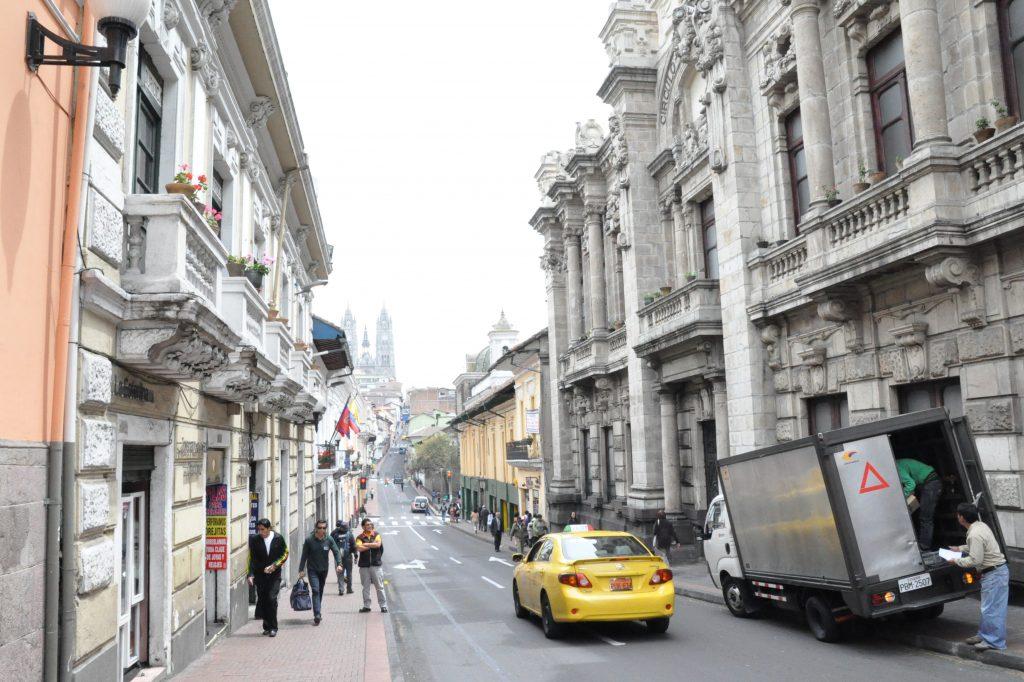 Ekwador Quito ulica