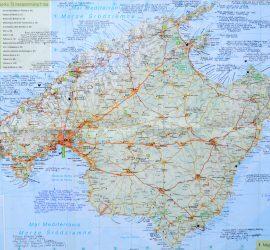 majorka mapa