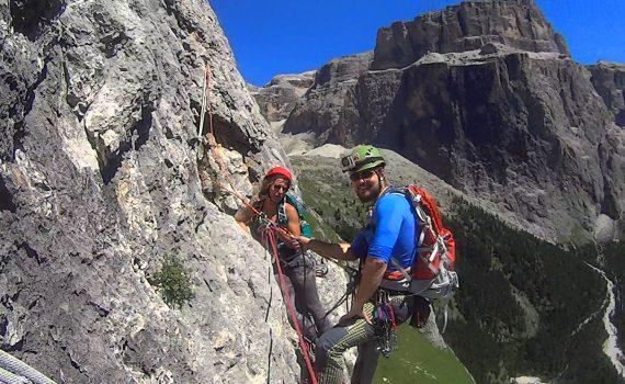 filmik z wspinaczkowego wyjazdu w dolomity 2016