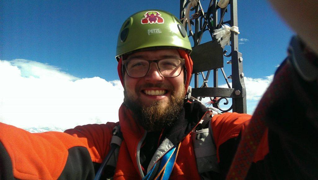 To sem ja na szczycie Matterhornu